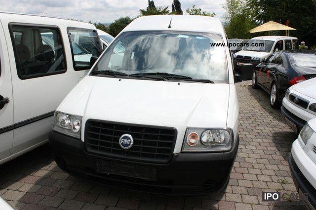 2006 Fiat  Scudo, 1.Hand, perfectly glazed, SX, trailer hitch, CD Van / Minibus Used vehicle photo