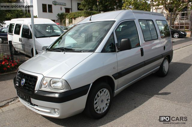 2006 Fiat  Scudo original ELX 55 000 KM ** Air ** like new Van / Minibus Used vehicle photo
