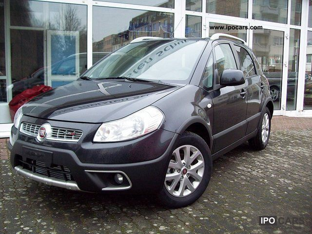 2011 Fiat  Sedici 2.0 Multijet Emotion 4X2 Off-road Vehicle/Pickup Truck Employee's Car photo