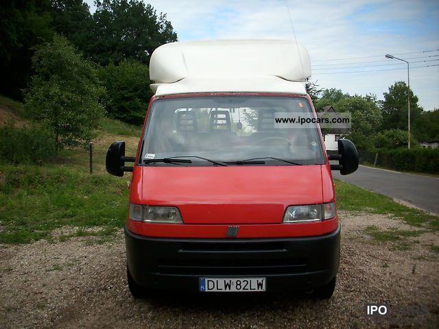 1995 Fiat  4.20m long Ducato platform with tarpaulin Other Used vehicle photo