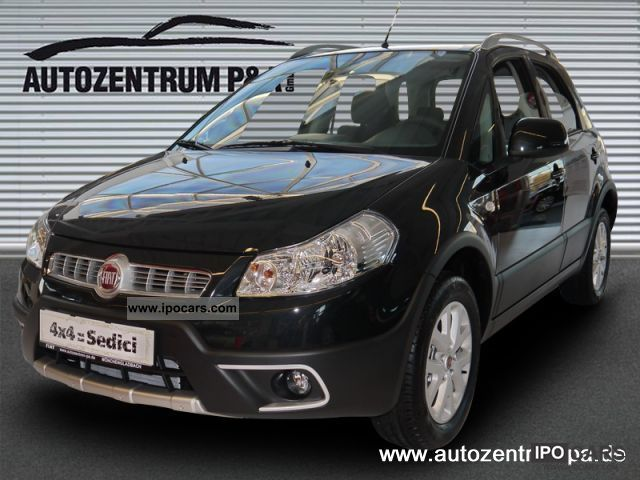 2011 Fiat  Sedici 1.6 16V Emotion 4X4 Off-road Vehicle/Pickup Truck Pre-Registration photo
