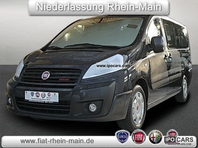2011 Fiat  Scudo Panorama Family 10 L2H1 140 Multijet 1 Van / Minibus Used vehicle photo