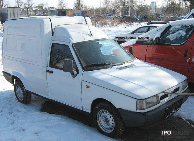 1997 Fiat Fiorino 1 7 Diesel Truck       With Mot