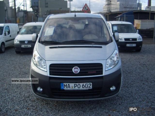 2009 fiat scudo panorama family l2 9 seats car photo and specs. Black Bedroom Furniture Sets. Home Design Ideas