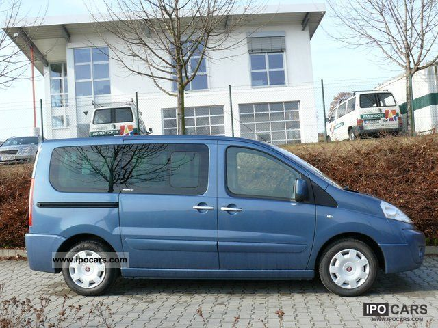 2009 Fiat  Scudo Panorama Executive L1H1 120 / heater Van / Minibus Used vehicle photo