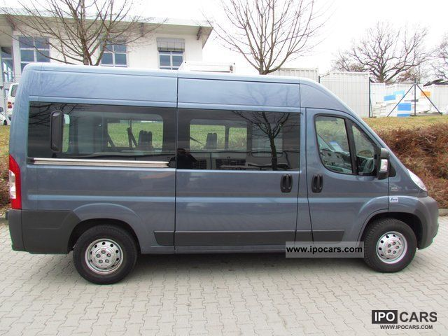 2008 fiat ducato kombi 33 l2h2 multijet 120 9 seater car photo and specs. Black Bedroom Furniture Sets. Home Design Ideas