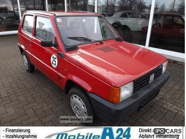 1992 fiat panda 25 km h car photo and specs