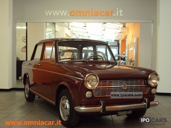 1967 Fiat  1100 R D'epoca Limousine Used vehicle photo
