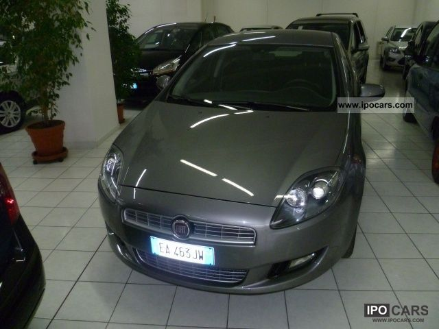 Fiat  Bravo 1.4 T-jet (120) Dynamic Metano 2010 Compressed Natural Gas Cars (CNG, methane, CH4) photo