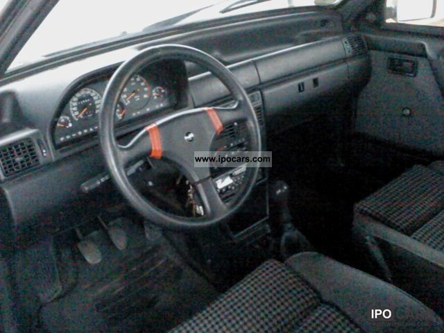 1992 Fiat Uno Turbo I E Racing Car Photo And Specs