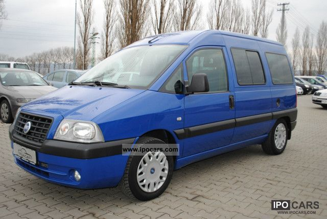 2005 Fiat  Scudo Jtd 6 SEATS AIR Estate Car Used vehicle photo