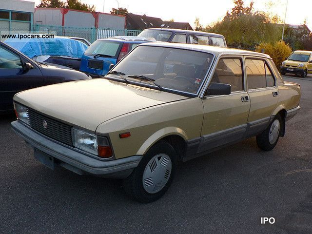 1983 Fiat  132A Limousine Used vehicle photo