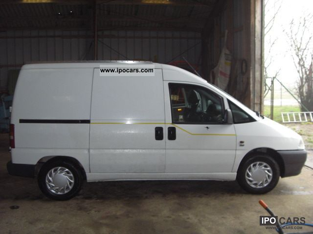 1997 Fiat  Scudo 220L truck Perm. 124 € taxes / year Van / Minibus Used vehicle photo