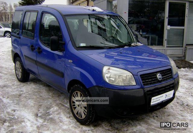 Fiat  Doblo FV 23% / BEZWYPADKOWY / SERWISOWANY / GAZ! 2007 Liquefied Petroleum Gas Cars (LPG, GPL, propane) photo