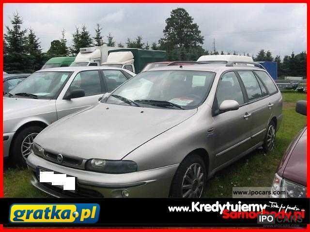 2000 Fiat  Marea KredytujemySamochody.pl Estate Car Used vehicle photo