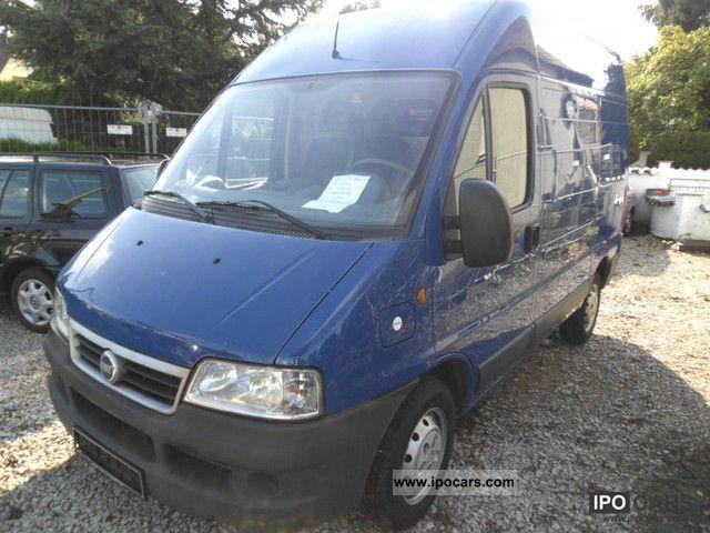 2004 Fiat  Ducato 11 2.0 JTD / High / van / air conditioning Van / Minibus Used vehicle photo