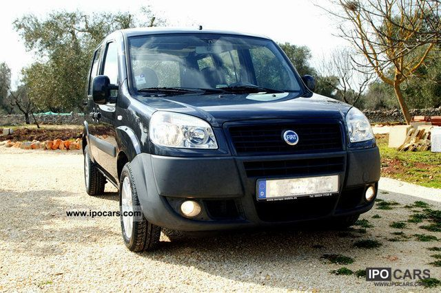 Fiat  Doblo 1.4 Active Benzina / GPL 2007 Liquefied Petroleum Gas Cars (LPG, GPL, propane) photo