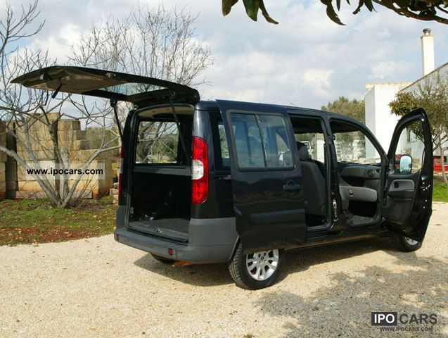 2007 Fiat Doblo 1 4 Active Benzina / GPL - Car Photo and Specs
