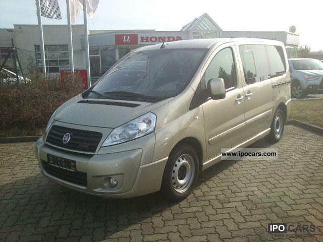 2011 Fiat  Scudo L1 (5-Si). Panorama Executive Estate Car Employee's Car photo