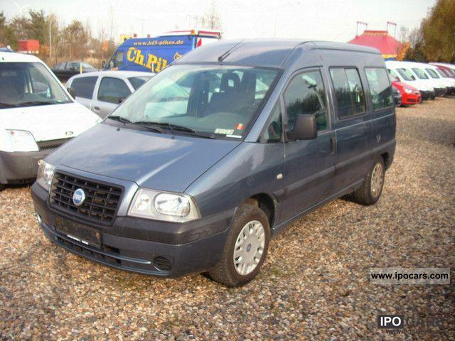 2004 Fiat  Scudo 2.0 Van / Minibus Used vehicle photo