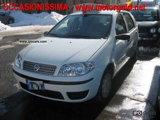 Fiat  Punto Classic 1.2 5 porte Natural Power 2008 Compressed Natural Gas Cars (CNG, methane, CH4) photo