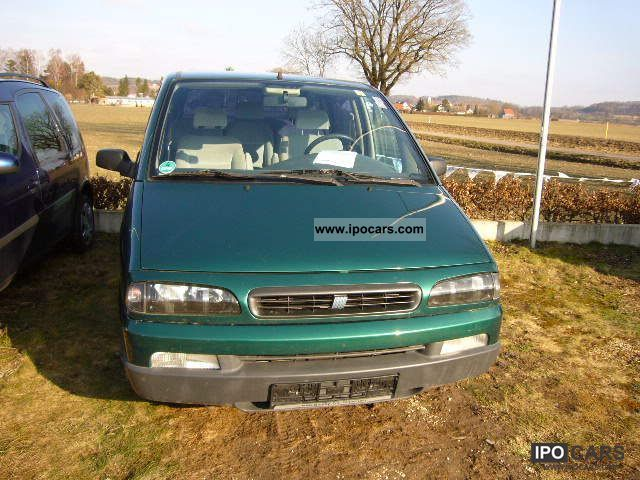 2000 Fiat  16V Ulysse 2.0 EL Klimatronic 7 seater towbar met Van / Minibus Used vehicle 			(business photo