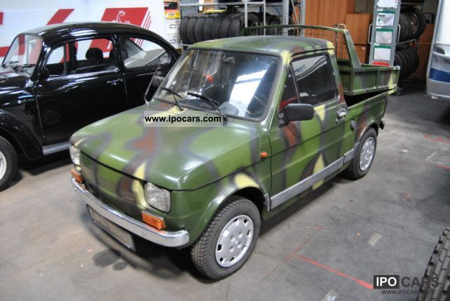 1986 Fiat  126 Tipper UNIQUE! Golf Caddy / fun car Small Car Used vehicle photo