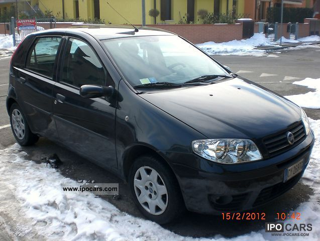 2005 fiat punto car photo and specs. Black Bedroom Furniture Sets. Home Design Ideas