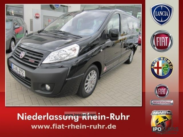 2011 Fiat  Scudo Panorama Executive 10 L2H1 165 M-Jet Van / Minibus Demonstration Vehicle photo