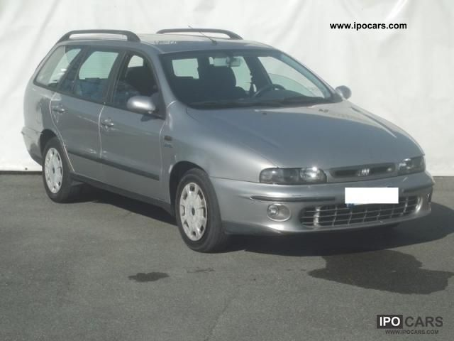 2000 Fiat  Marea Weekend 75 turbo diesel SX Estate Car Used vehicle photo