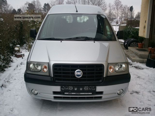 2006 Fiat  Scudo JTD ELX 16V 8 SEATER / AIR CONDITIONING Van / Minibus Used vehicle photo