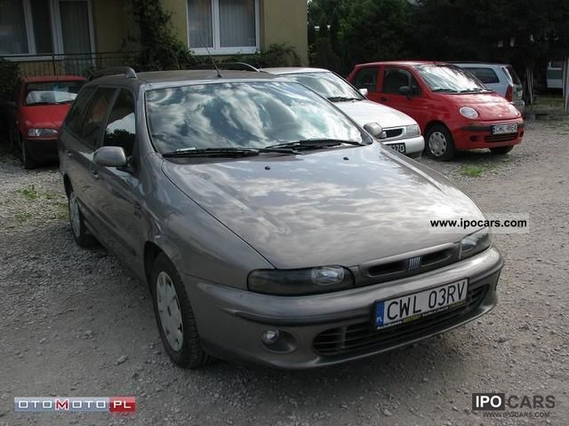 2001 Fiat  Marea 1.9 JTD 105km AIR! Estate Car Used vehicle photo