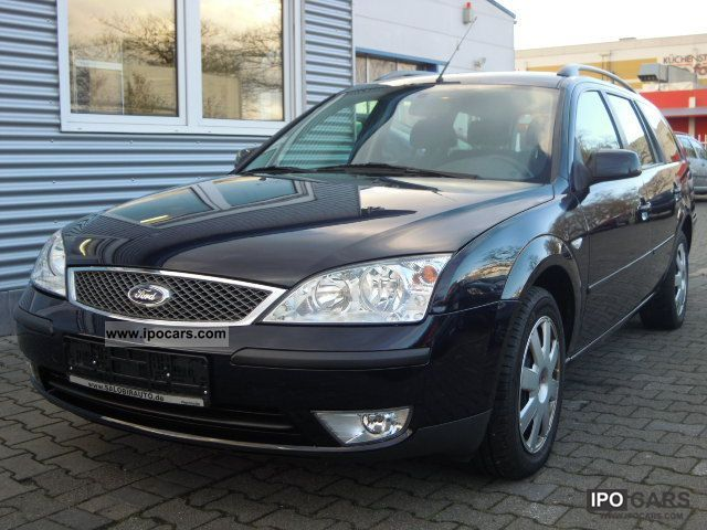 2006 Ford  Mondeo 2.0 TDCi tournament aircon + Green P: Estate Car Used vehicle photo