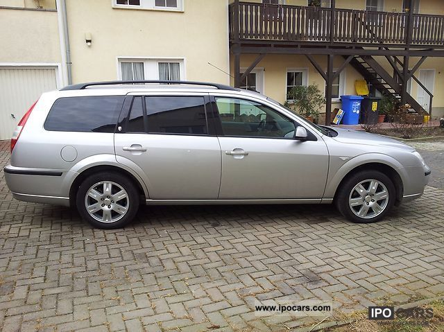 2006 ford mondeo 2 0 tdci ghia tournament car photo and specs. Black Bedroom Furniture Sets. Home Design Ideas