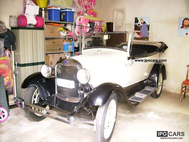 1929 Ford  Car d'epoca del FORD A 1929 Cabrio / roadster Used vehicle photo