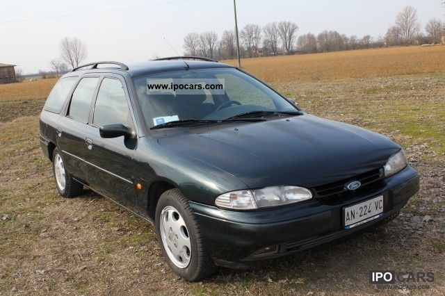 1997 ford mondeo 1 series 1 8 turbo diesel egr ghia sw car photo and specs. Black Bedroom Furniture Sets. Home Design Ideas