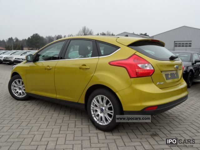 2011 ford focus titanium 1 6 topausstattung sofort car photo and specs. Black Bedroom Furniture Sets. Home Design Ideas