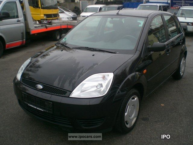 2005 Ford  Viva Fiesta 1.4 TDCI X 5-door air 2.Hd € 4 Small Car Used vehicle photo