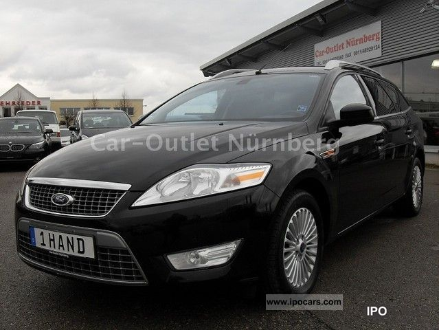 2009 Ford  Mondeo 2.0 TDCi Titanium * Navi * Cruise control * Estate Car Used vehicle photo