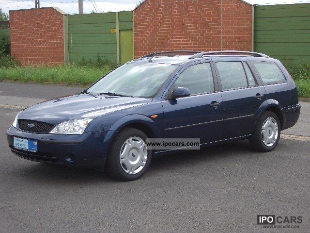 2003 Ford  Mondeo 1.8 Ambiente tournament * PDC * speed * air * Estate Car Used vehicle photo