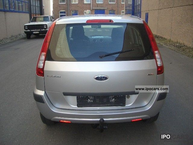 2006 ford fusion 1 4 tdci ambiente car photo and specs. Black Bedroom Furniture Sets. Home Design Ideas