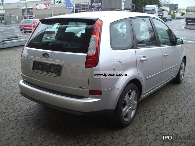2006 ford c max 1 6 tdci dpf fun x navi car photo and specs. Black Bedroom Furniture Sets. Home Design Ideas