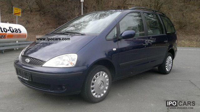 2001 Ford  Galaxy 1.9 TDI euro3 climate sr wr + 6-seater ahk! Van / Minibus Used vehicle photo