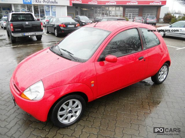 2001 Ford  Ka 1.3i * Climate * TUV * new top condition Small Car Used vehicle photo