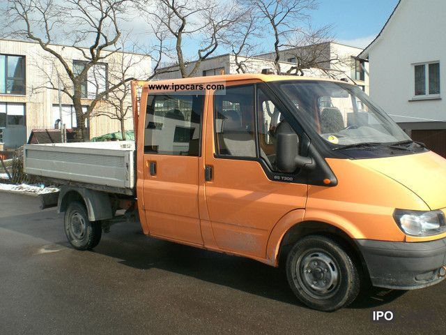 2002 Ford  FT 300 M 2.0 TDE, twin bunk cabin (Doka) Other Used vehicle photo