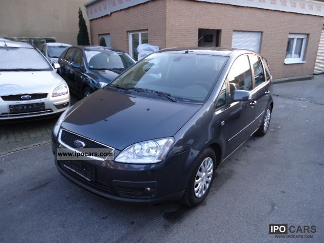 2006 ford focus c max 1 6 tdci ghia navigation gsd pdc automatic car photo and specs. Black Bedroom Furniture Sets. Home Design Ideas