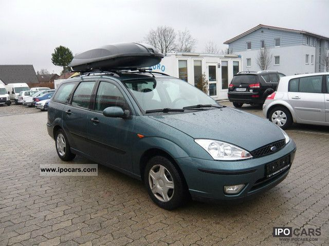 2002 Ford Focus Turnier 1 8 Di Futura With Roof Box