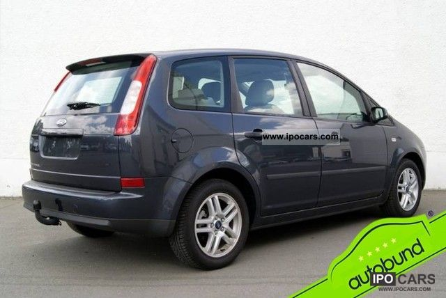 2006 ford c max 1 6 sitzh aluminum temp car photo and specs. Black Bedroom Furniture Sets. Home Design Ideas