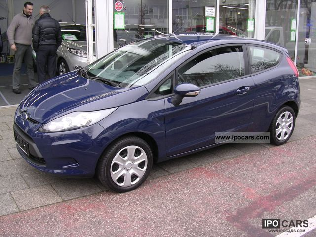 2009 Ford Fiesta 1 25 Trend In The Customer Car Photo