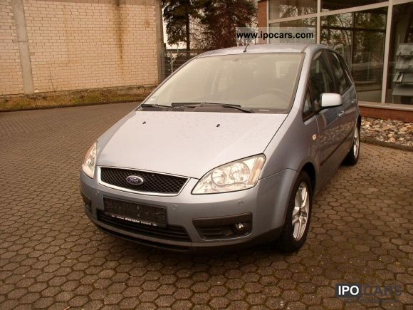 2006 Ford  Focus C-MAX 1.6 Ti-VCT Fun Klimaa. / LPG gas system Van / Minibus Used vehicle photo